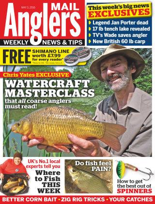 Angler's Mail 3rd May 2016