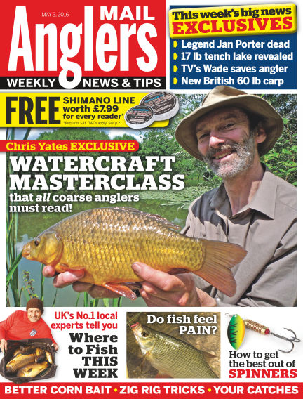 Angler's Mail May 03, 2016 00:00