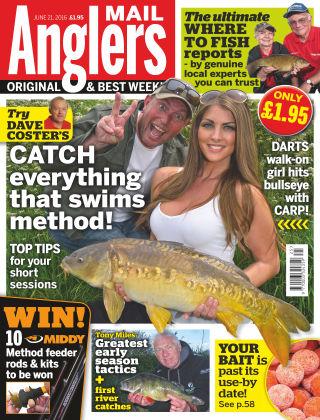 Angler's Mail 21st June 2016