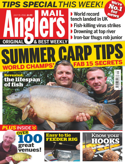 Angler's Mail July 19, 2016 00:00