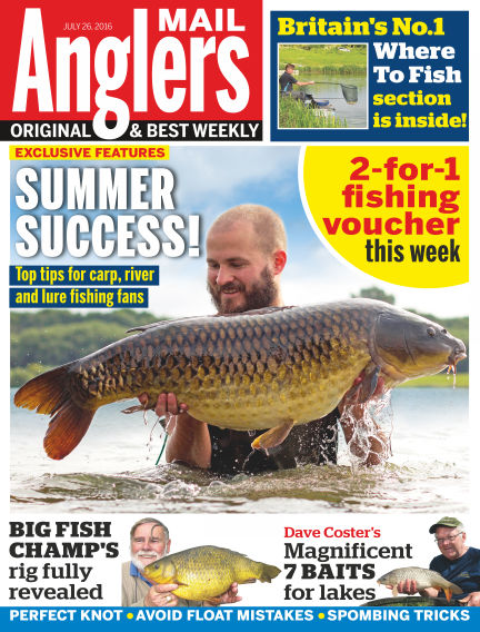 Angler's Mail July 26, 2016 00:00