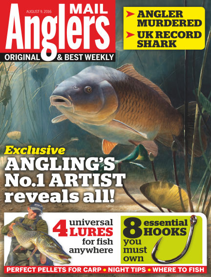 Angler's Mail August 09, 2016 00:00