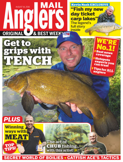 Angler's Mail August 16, 2016 00:00