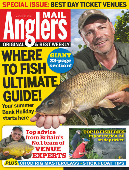 Angler's Mail August 23, 2016 00:00