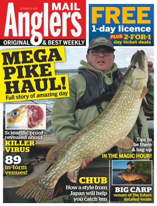 Angler's Mail 11th October 2016