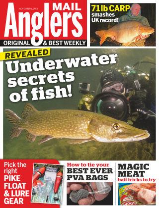 Angler's Mail 1st November 2016