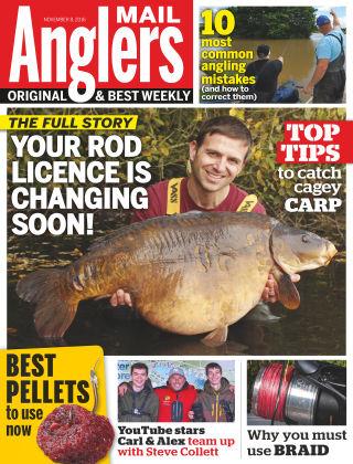 Angler's Mail 8th November 2016