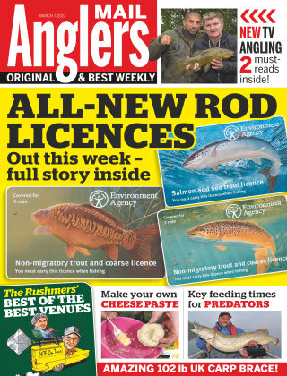 Angler's Mail 7th March 2017
