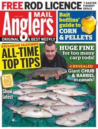 Angler's Mail 4th April 2017