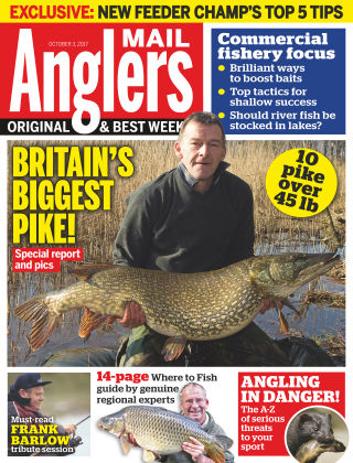 Angler's Mail 3rd October 2017