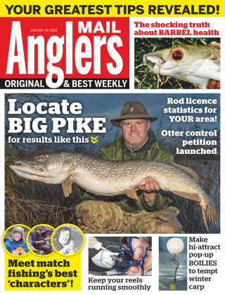 Angler's Mail 30th January 2018