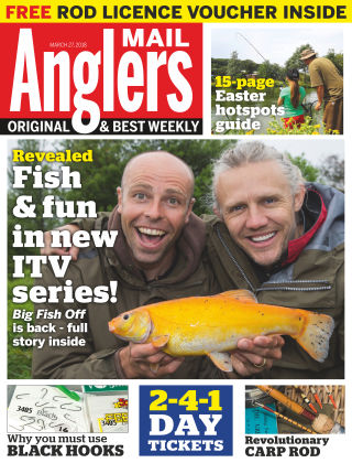 Angler's Mail 27th March 2018