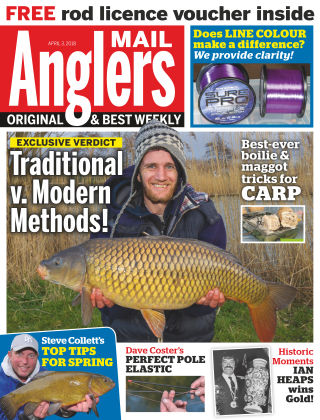 Angler's Mail 3rd April 2018