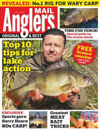 Angler's Mail 10th April 2018