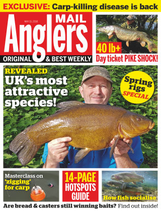 Angler's Mail 15th May 2018