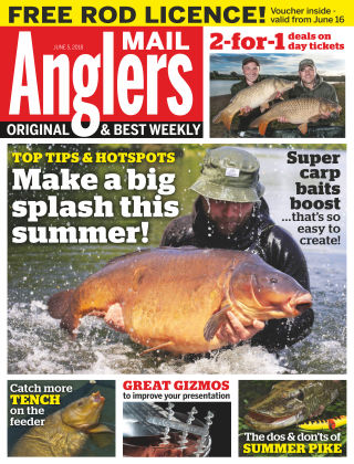 Angler's Mail 5th June 2018