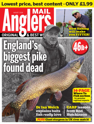 Angler's Mail 7th August 2018