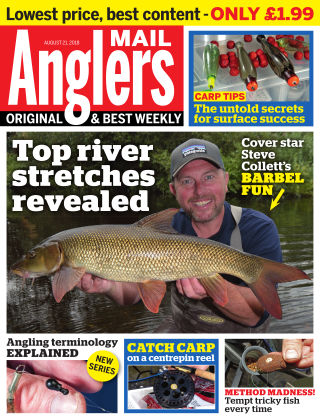 Angler's Mail 21st August 2018