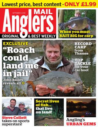Angler's Mail 4th September 2018