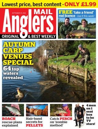 Angler's Mail 25th September 2018