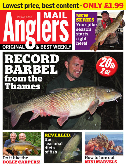 Angler's Mail October 02, 2018 00:00