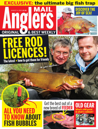 Angler's Mail 15th August 2020