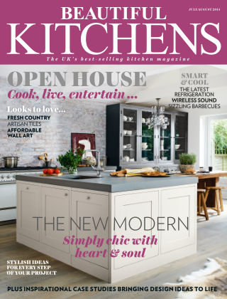 Beautiful Kitchens July/August 2014