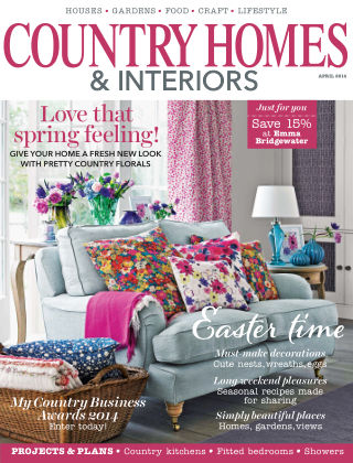 Country Homes & Interiors April 2014
