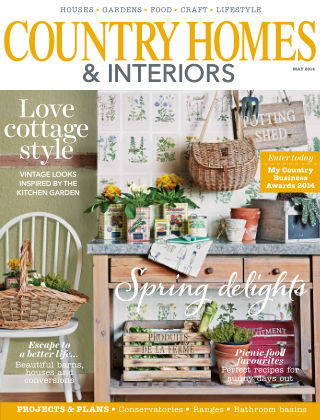 Country Homes & Interiors May 2014