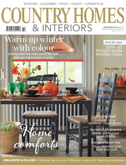 Country Homes & Interiors January 30, 2014 00:00