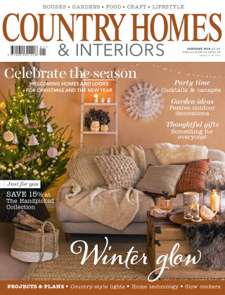 Country Homes & Interiors January 2014