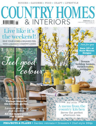 Country Homes & Interiors June 2014