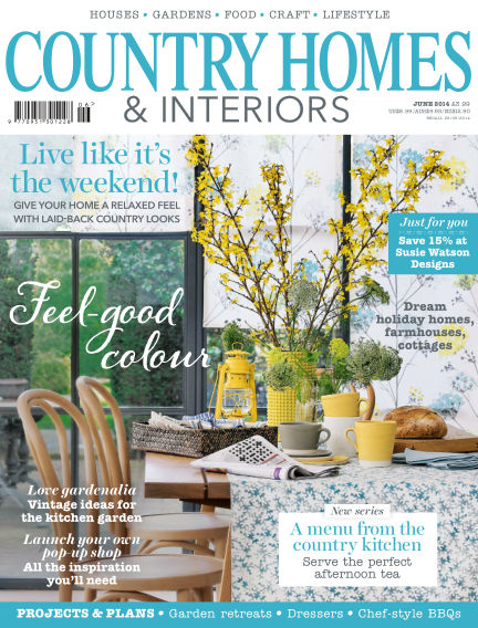 Country Homes & Interiors May 29, 2014 00:00