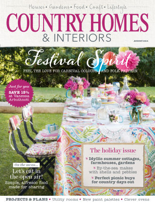 Country Homes & Interiors August 2014