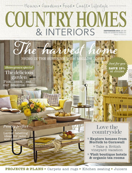 Country Homes & Interiors August 29, 2014 00:00