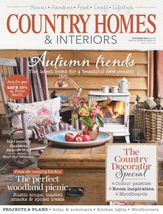 Country Homes & Interiors October 2014