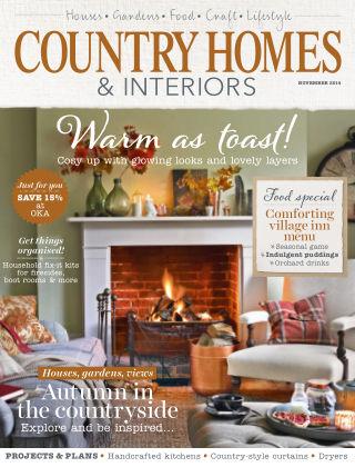 Country Homes & Interiors November 2014