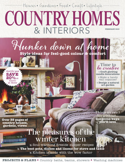 Country Homes & Interiors January 29, 2015 00:00