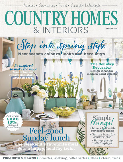 Country Homes & Interiors March 05, 2015 00:00