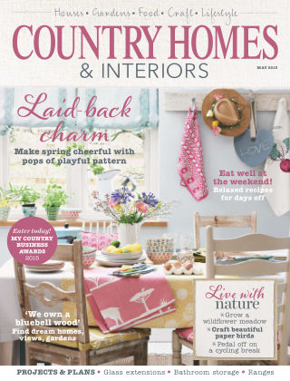 Country Homes & Interiors May 2015