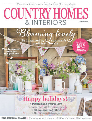 Country Homes & Interiors August 2015