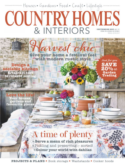 Country Homes & Interiors September 03, 2015 00:00