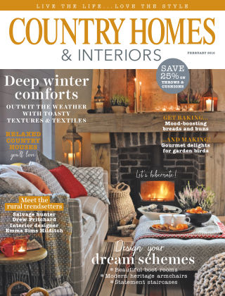Country Homes & Interiors February 2016