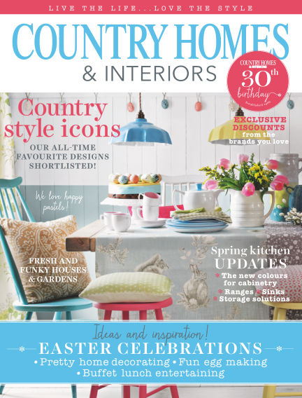 Country Homes & Interiors March 31, 2016 00:00