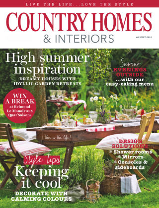 Country Homes & Interiors August 2016