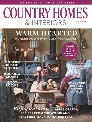 Country Homes & Interiors November 2016