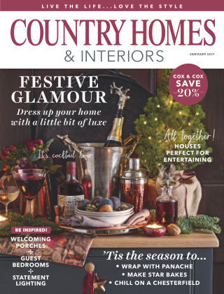Country Homes & Interiors January 2017