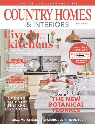 Country Homes & Interiors Magazine April 2017