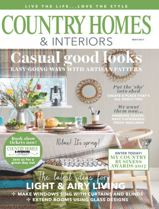 Country Homes & Interiors May 2017
