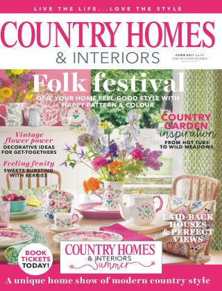 Country Homes & Interiors Jun 2017